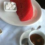 Detalle del desayuno