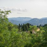 View of Florence from our room (Fiesole)