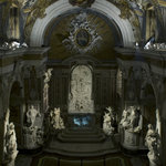 Cappella Sansevero, panoramica dall'alto