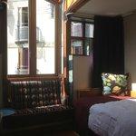 bay window/skylight