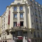 Vue de notre hôtel à Nice