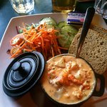 Lobster Stew & Irish Soda Bread