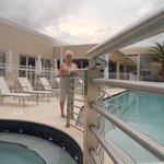 spa area near pool