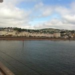 teignmouth from the pier