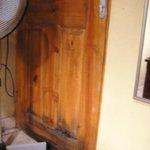 Rotted door
