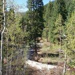 River through the ranch