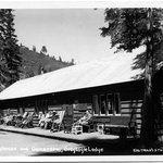 The lodge in the early 1930's
