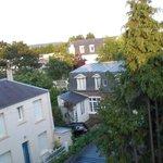 Blick aus dem Hotelfenster