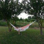 relax nella amaca