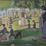 Georges Seurat, A Sunday on La Grande Jatte-1884.