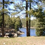Woods Canyon Lake on the Mogollon Rim