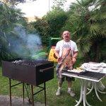Sante e la grigliata