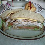 Turkey Delite made with our house smoked turkey breast