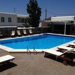 Amazing pool in Ios Resort