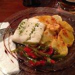 bacalao con patatas y verduritas