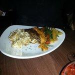 Fillet steak mignon with zauq special sauce