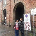 Entrada a Lucca Amurallada muy cerca del hotel