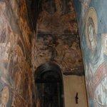 Die Fresken haben gelitten