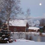 wintertime moon