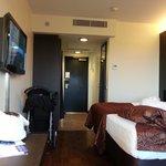 Passe stort hotellrom