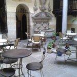 Terraza Restaurante Palacio Mariana Pineda