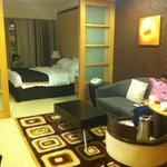 My room in the hotel