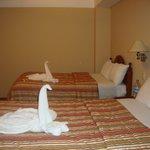 Panorámica de la hermosa habitación del Hostal El Santuario