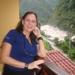 Tomada desde el Bancón de la habitación con vista al Rio