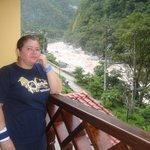 Tomada desde el Balcón de la habitación con vista al Río
