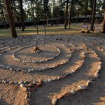 The Bluebird Walking Labyrinth is a special feature you will want to experience