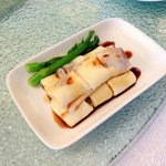 Steamed rice rolls with Shrimp