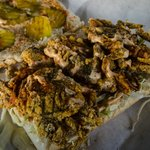 Soft shell crab po boy