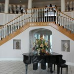 Grand Piano and Staircase