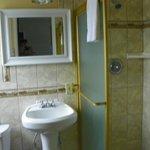 Adequate bathroom, very clean!