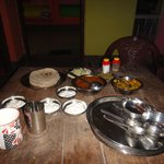 Part of North Indian Thali..Very Hygienic and tasty food !