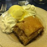 Baklava: layers of nuts