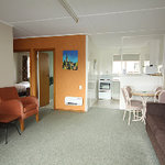 living area of motel unit