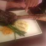 "The sensational ""Tomahalk Steak"""