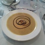 the soup which was delicious