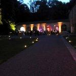 Orangerie mariage de nuit