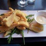 Calamari Fritti  ($24 main size)