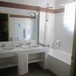 Salle de bains chambre de luxe