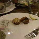 Mushroom Kabab