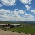 Gorgeous view of the ranch