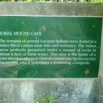 Burial Mound Cave history