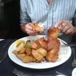 My real cod and chunky chips mmmmmmmmm