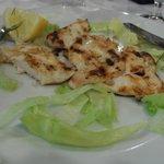 Grilled chicken at Ristorante La Cantina del Mare