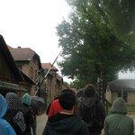 Entering Auschwitz