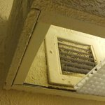 Vent in the bathroom.