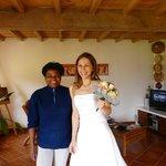 10 minutes avant le mariage !!!